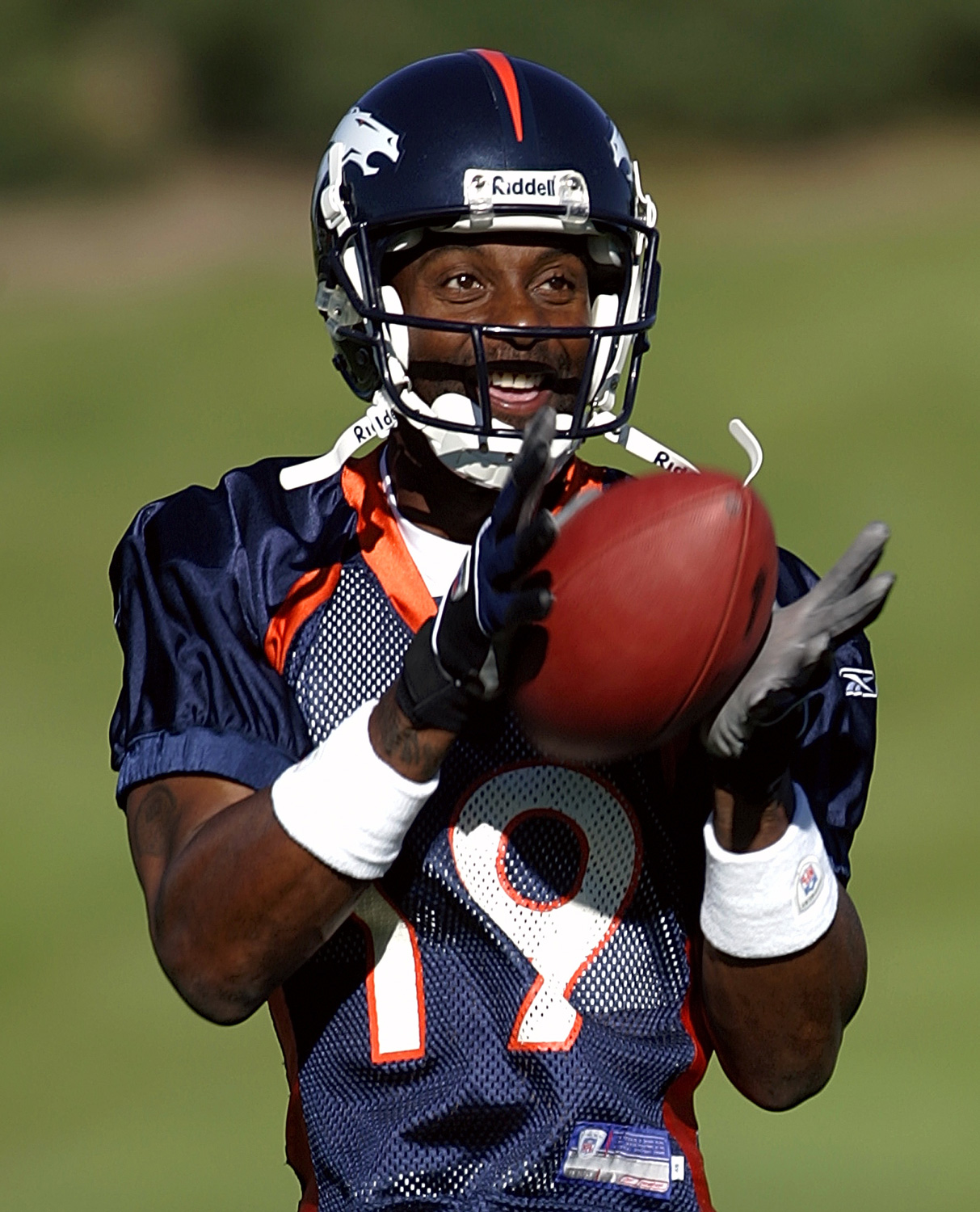 Jerry Rice as a Bronco