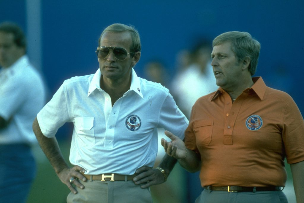 Pat Bowlen and John Beake