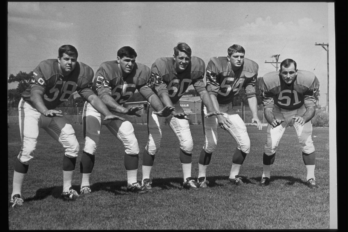 Frank Richter, Archie Matsos, Jerry Hopkins, Ron Sbranti, and Eugene Jeter