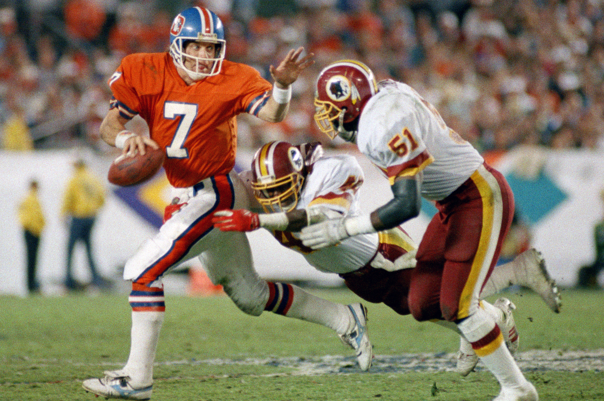 John Elway in Super Bowl XXII