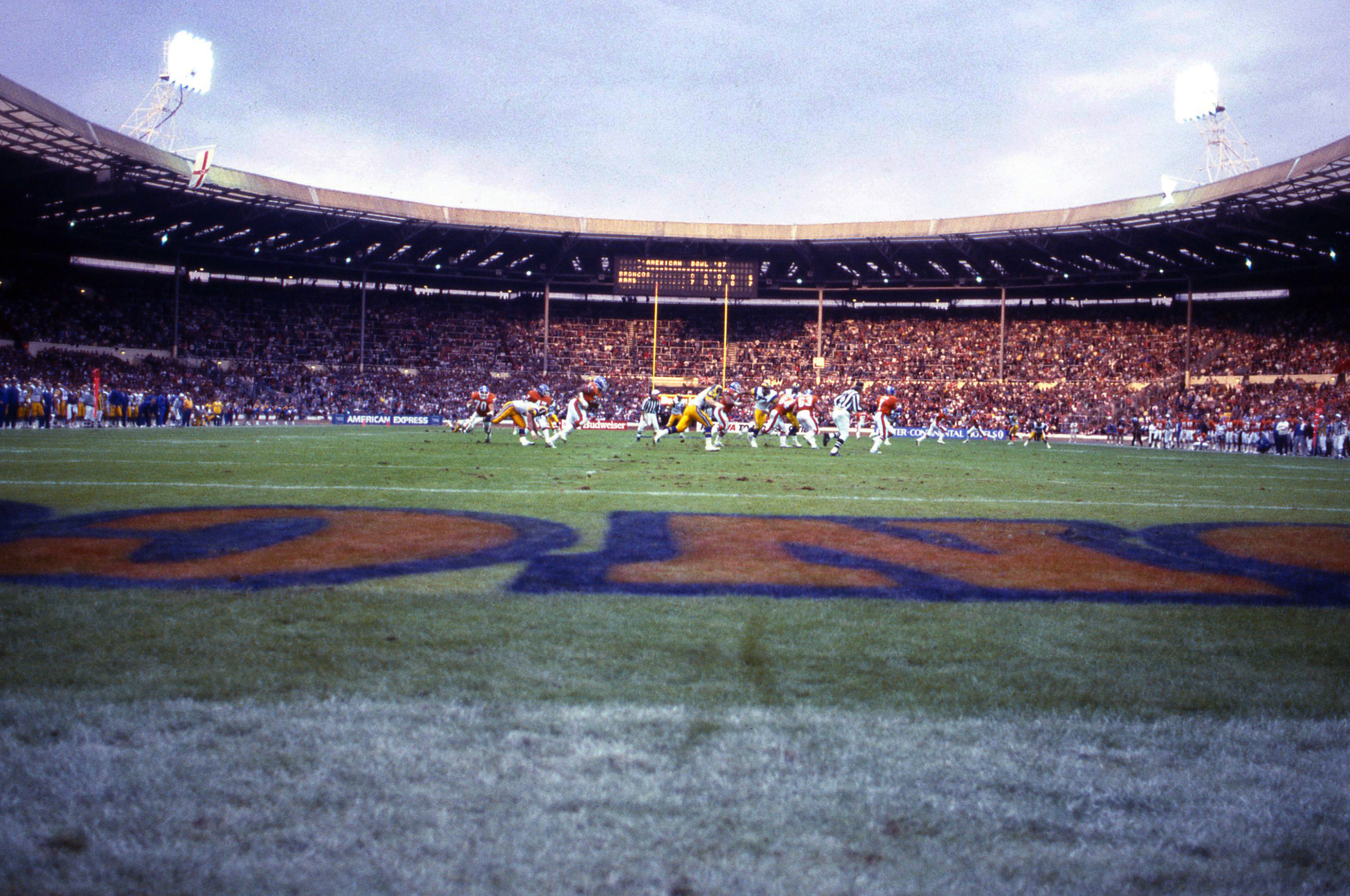 Broncos at Wembley Stadium