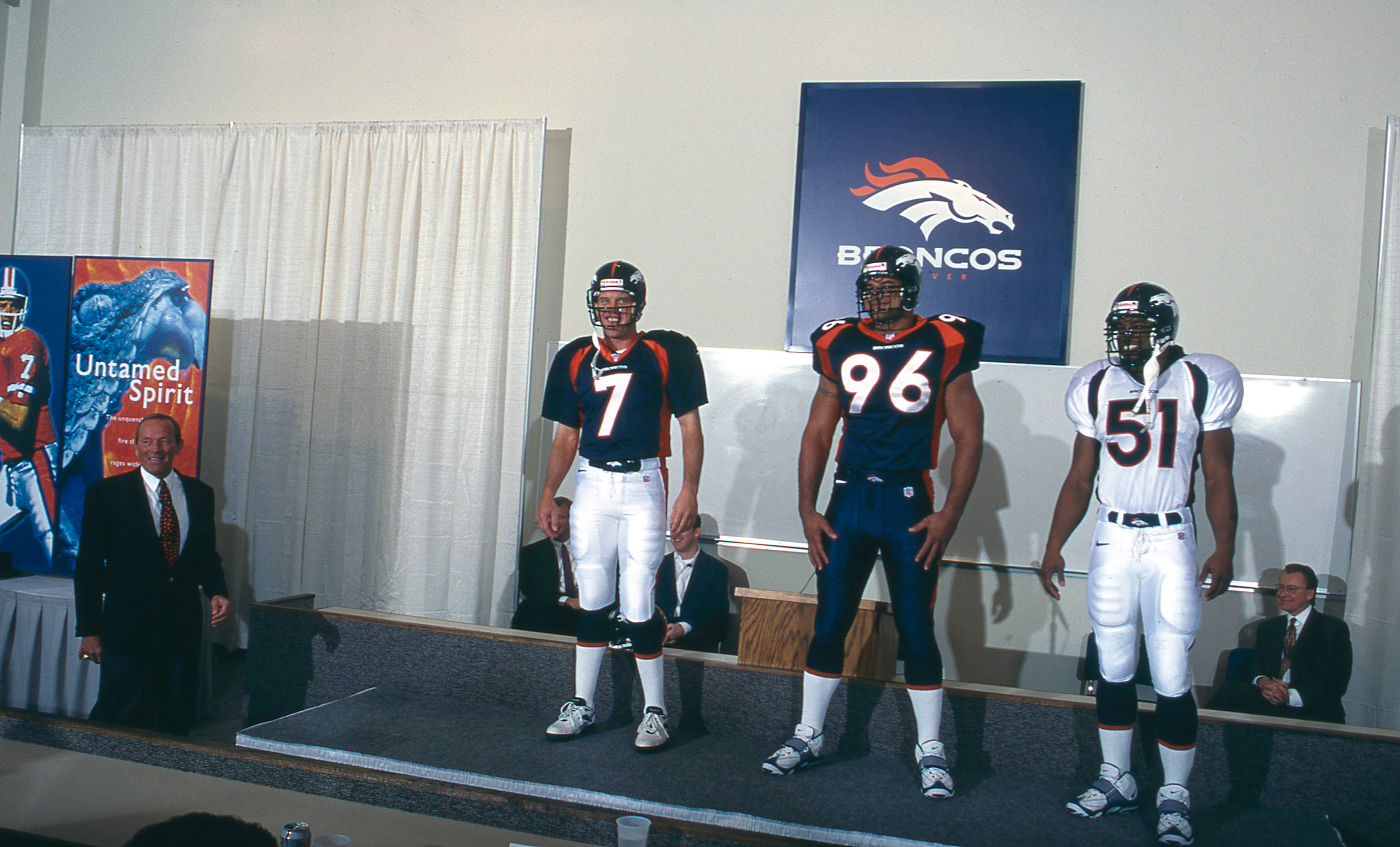 Broncos' new uniforms