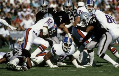 Broncos 21-10 victory over the Los Angeles Raiders on November 2, 1986