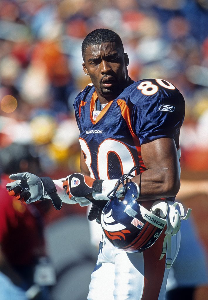 Denver Broncos wide receiver Rod Smith