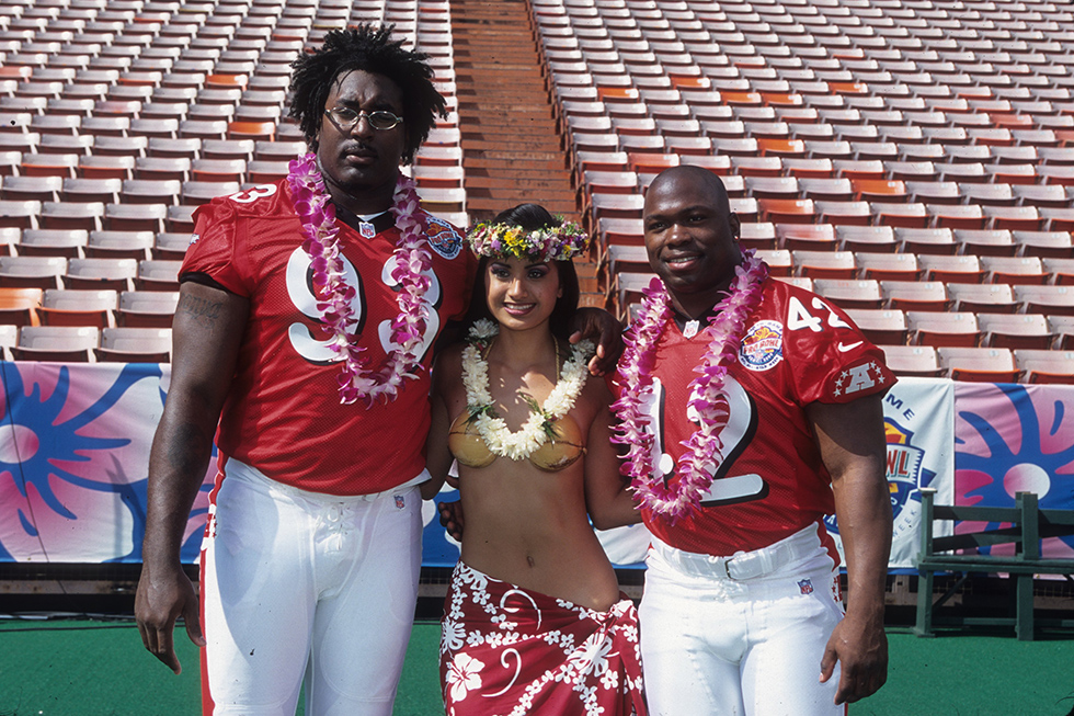 2000 NFL Pro Bowl at Aloha Stadium on February 6, 2000 in Honolulu, Hawaii