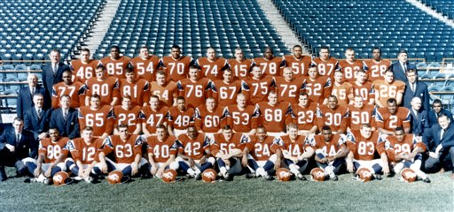 The 1965 Denver Broncos.