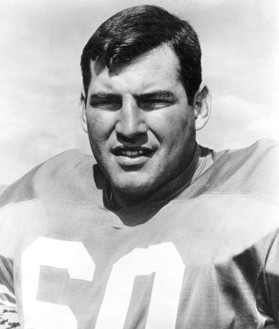 Denver Broncos guard Ken Adamson