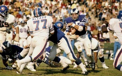 Rams vs. Denver Broncos November 12, 1972