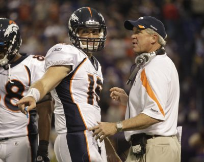 John Fox and Tim Tebow