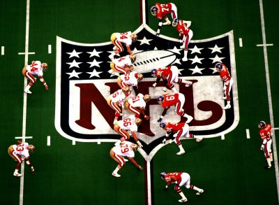 Super Bowl XXIV line of scrimmage