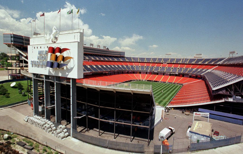 Original Mile High Stadium