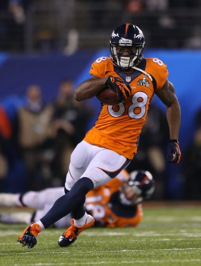 Demaryius Thomas carries