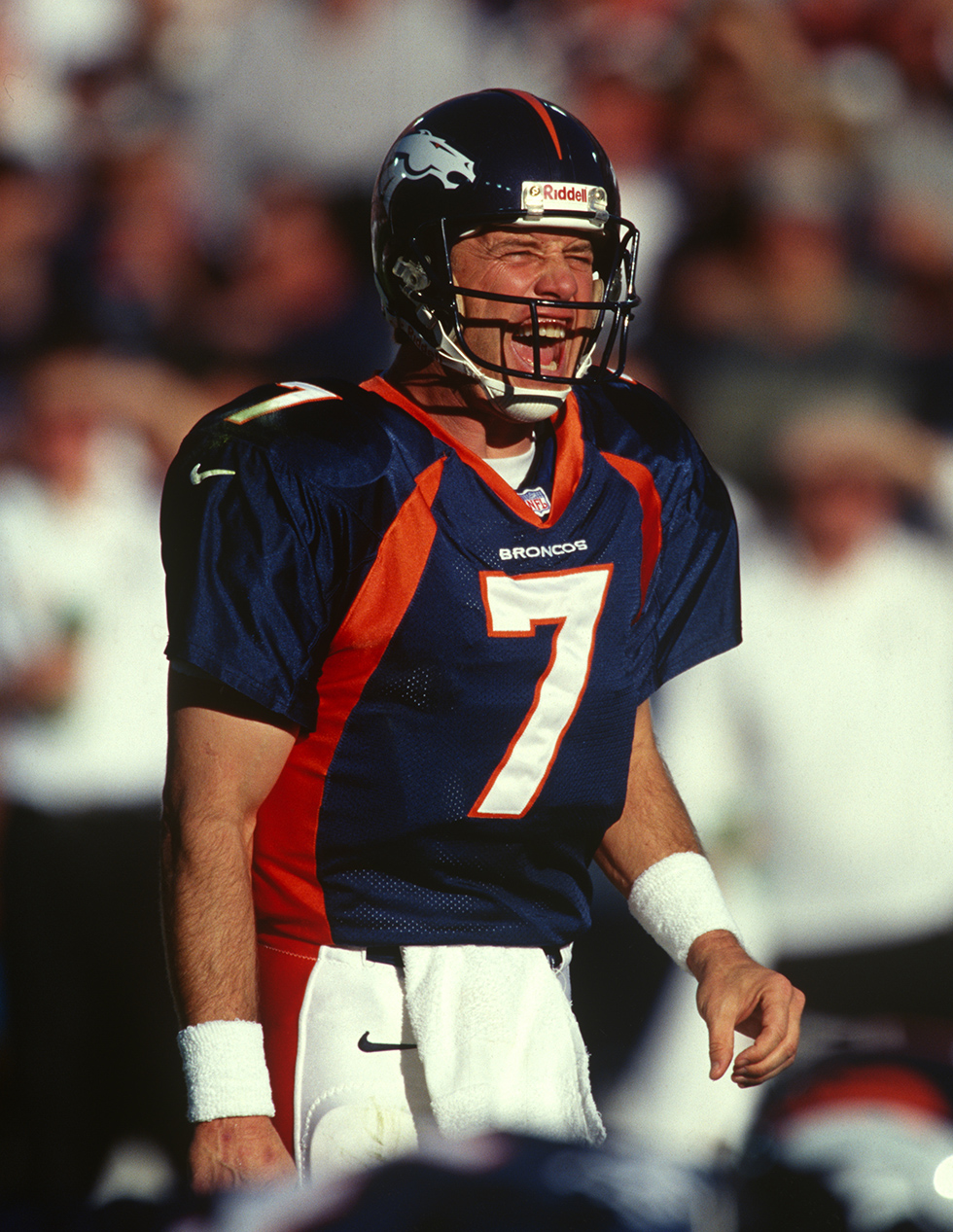 Denver Broncos Hall of Fame quarterback John Elway (7)