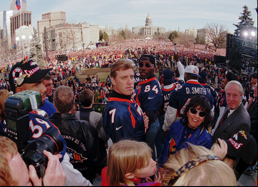 Super Bowl XXXII victory parade