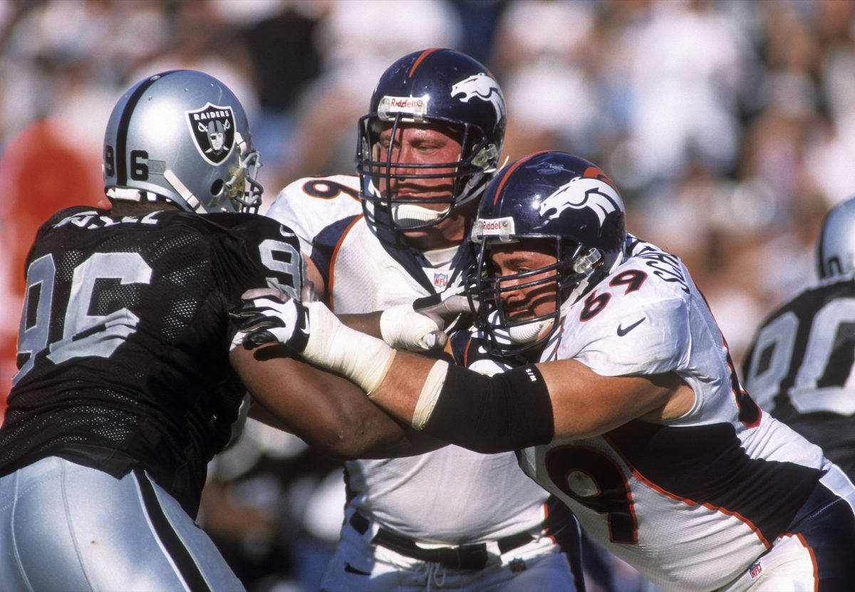 Mark Schlereth and Tom Nalen