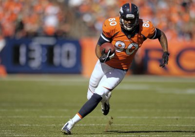 Julius Thomas runs