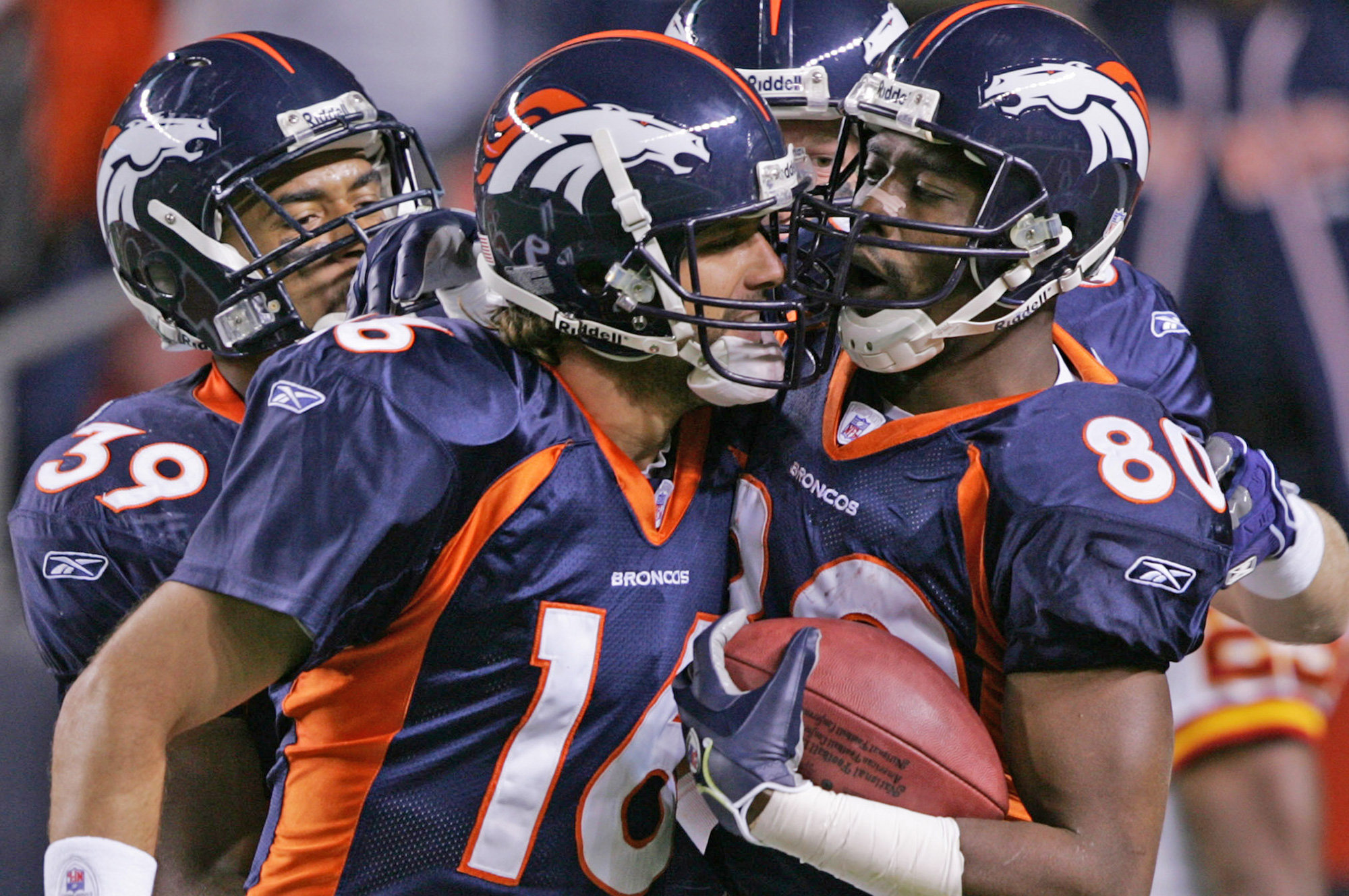 Jake Plummer and Rod Smith
