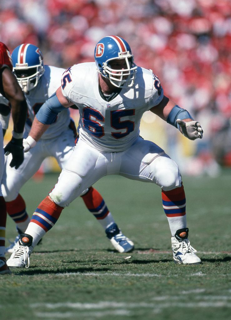 1e5fd31c32d Tackle Gary Zimmerman was the second Pro Football Hall of Fame inductee to  have spent a primary portion of his career with the Denver Broncos.
