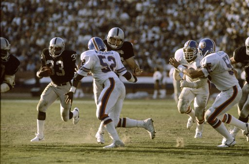 Raiders Broncos 1984
