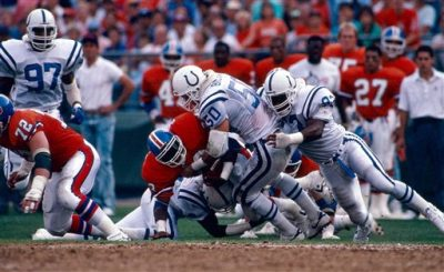 NFL preseason game in Denver, Colo., August 25, 1988