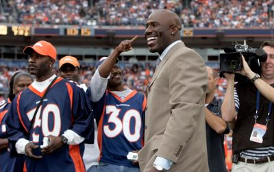 Terrell Davis Ring Of Fame Induction