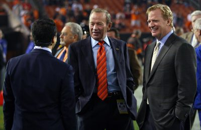 Pat Bowlen and Roger Goodell