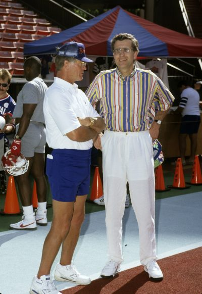 Dan Reeves and Paul Tagliabue