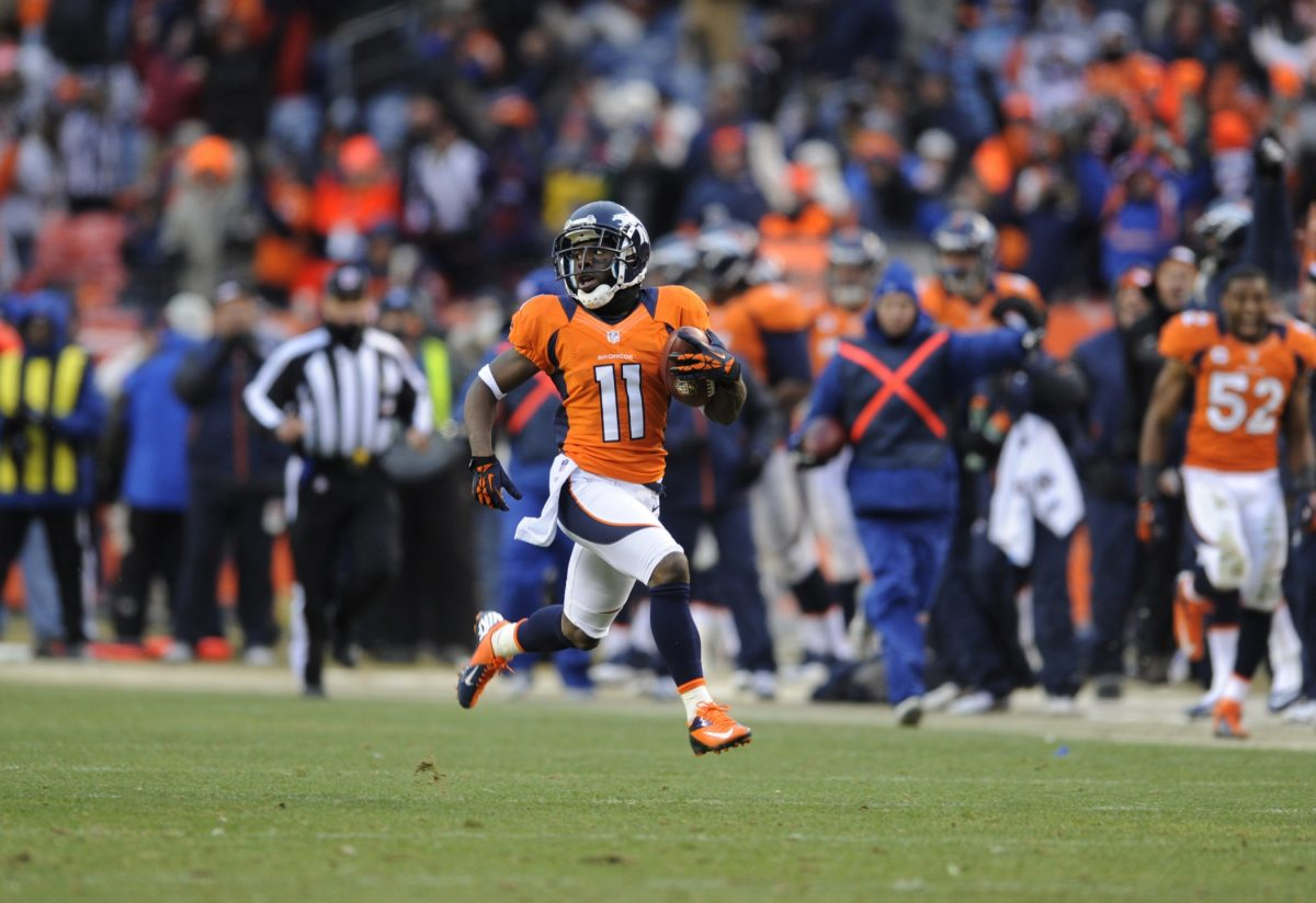 Wide receiver Trindon Holliday