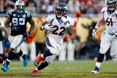 C.J. Anderson carries the ball
