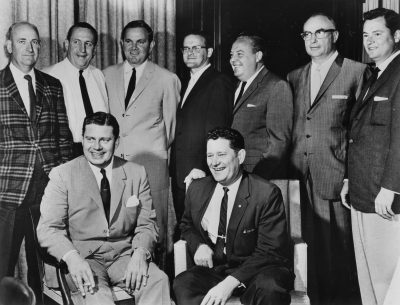 Owners of the American Football League pose for a group photo in 1961