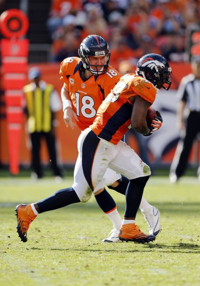 Peyton Manning and Willis McGahee